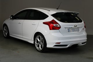 2013 Ford Focus LW MkII ST White 6 Speed Manual Hatchback.