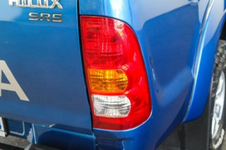 2011 Toyota Hilux GGN25R MY11 Upgrade SR5 (4x4) Blue Metallic 5 Speed Automatic Dual Cab Pick-up