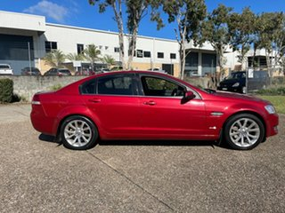 2011 Holden Commodore EQUIPE VE II MY12 Red Automatic Sedan.