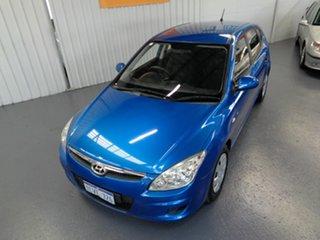 2008 Hyundai i30 FD MY09 SX Blue 4 Speed Automatic Hatchback
