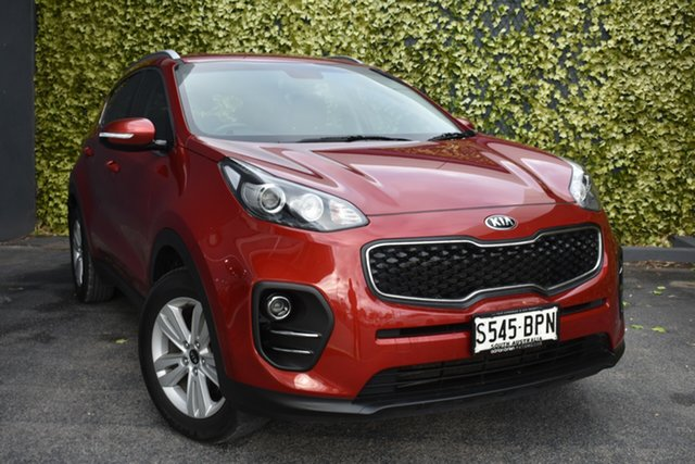 Used Kia Sportage QL MY17 Si 2WD St Marys, 2017 Kia Sportage QL MY17 Si 2WD Red 6 Speed Sports Automatic Wagon