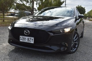 2019 Mazda 3 BP2H7A G20 SKYACTIV-Drive Evolve Black 6 Speed Sports Automatic Hatchback.