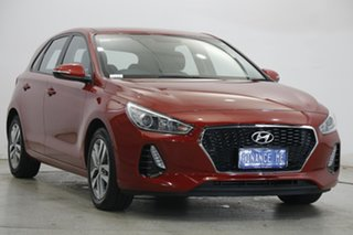 2019 Hyundai i30 PD2 MY19 Active Firey Red 6 Speed Sports Automatic Hatchback.