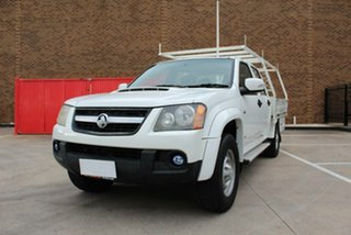 2008 Holden Colorado RC LX (4x4) White 5 Speed Manual Cab Chassis