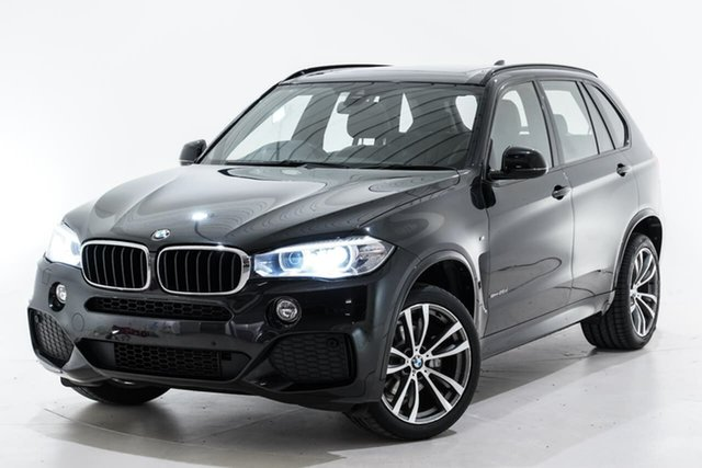 Used BMW X5 F15 xDrive25d Berwick, 2015 BMW X5 F15 xDrive25d Black 8 Speed Automatic Wagon
