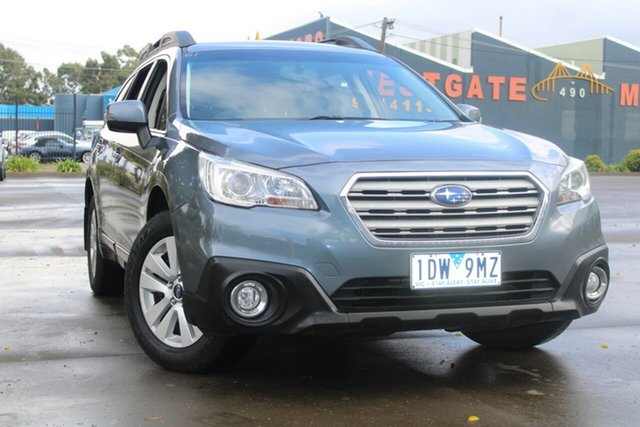 Used Subaru Outback MY15 2.0D AWD West Footscray, 2014 Subaru Outback MY15 2.0D AWD Continuous Variable Wagon