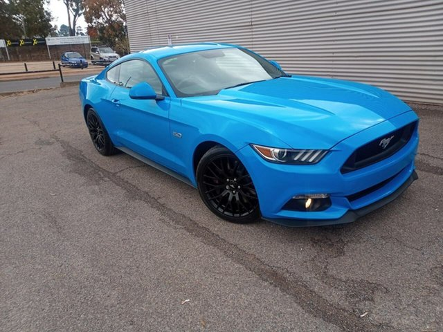 Used Ford Mustang FM 2017MY GT Fastback SelectShift Elizabeth, 2017 Ford Mustang FM 2017MY GT Fastback SelectShift Blue 6 Speed Sports Automatic Fastback