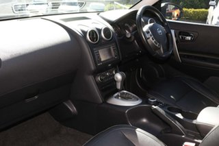 2012 Nissan Dualis J107 Series 3 MY12 +2 X-tronic AWD Ti-L White 6 Speed Constant Variable Hatchback
