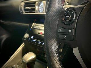 2013 Lexus IS GSE31R IS350 F Sport Silver 8 Speed Sports Automatic Sedan