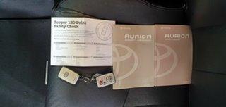 2007 Toyota Aurion GSV40R Sportivo ZR6 Black 6 Speed Sports Automatic Sedan