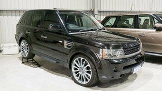 2009 Land Rover Range Rover Sport L320 10MY TDV6 Black 6 Speed Sports Automatic Wagon.