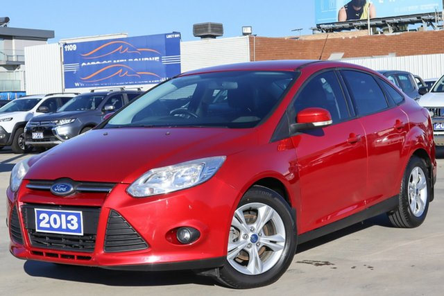 Used Ford Focus LW MkII Trend PwrShift Coburg North, 2013 Ford Focus LW MkII Trend PwrShift Red 6 Speed Sports Automatic Dual Clutch Sedan