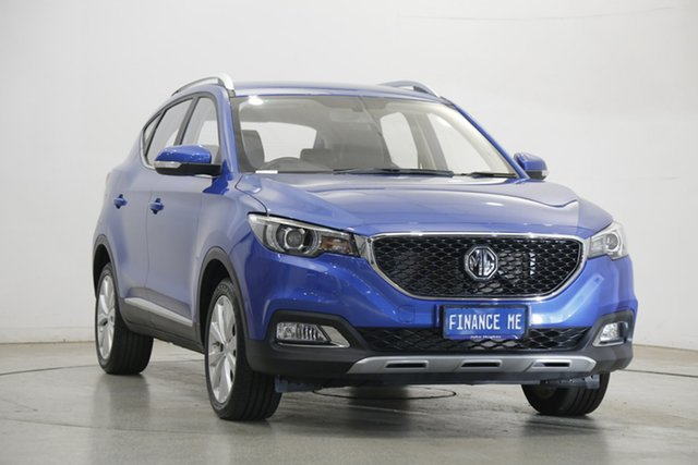 Used MG ZS AZS1 MY20 Excite 2WD Victoria Park, 2020 MG ZS AZS1 MY20 Excite 2WD Regal Blue 4 Speed Automatic Wagon
