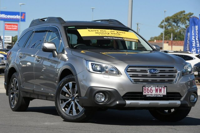 Used Subaru Outback B6A MY15 2.5i CVT AWD Premium Aspley, 2015 Subaru Outback B6A MY15 2.5i CVT AWD Premium Tungsten Metal 6 Speed Constant Variable Wagon