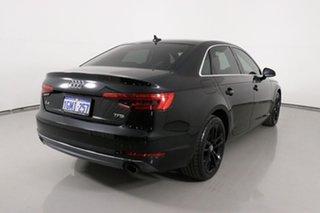 2016 Audi A4 F4 (B9) 2.0 TFSI S Tronic Sport Mythos Black 7 Speed Auto Dual Clutch Sedan