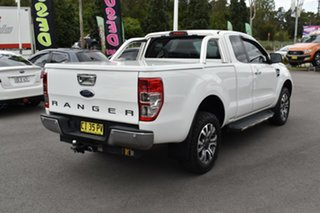 2016 Ford Ranger PX MkII XLT Super Cab 4x2 Hi-Rider White 6 Speed Sports Automatic Utility.