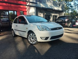 2004 Ford Fiesta WP LX White 4 Speed Automatic Hatchback.