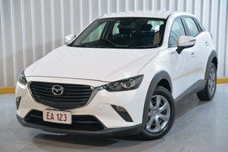 2015 Mazda CX-3 DK2W76 Neo SKYACTIV-MT White 6 Speed Manual Wagon.