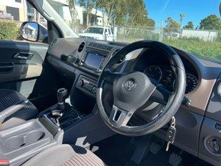 2011 Volkswagen Amarok 2H TDI400 Highline (4x4) Gold 6 Speed Manual Dual Cab Utility