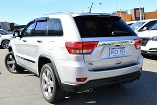 2012 Jeep Grand Cherokee WK MY2012 Overland Silver 5 Speed Sports Automatic Wagon.