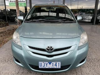 2006 Toyota Yaris NCP93R YRS Green 4 Speed Automatic Sedan.