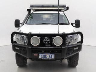 2016 Toyota Landcruiser Prado GDJ150R MY16 GXL (4x4) White 6 Speed Manual Wagon.