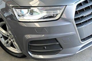 2015 Audi Q3 8U MY14 TFSI S Tronic Grey 6 Speed Sports Automatic Dual Clutch Wagon.