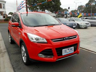 2013 Ford Kuga TE Titanium Red 5 Speed Automatic Wagon.