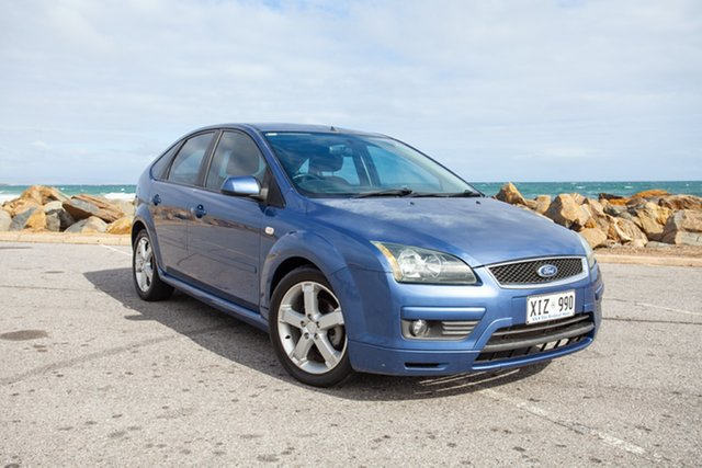 Used Ford Focus LS Zetec Lonsdale, 2006 Ford Focus LS Zetec Blue 5 Speed Manual Hatchback