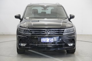 2017 Volkswagen Tiguan 5N MY18 140TDI DSG 4MOTION Highline Black 7 Speed.