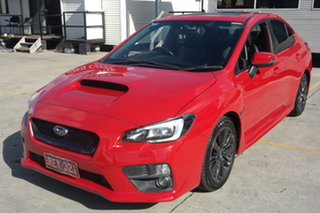 2014 Subaru WRX V1 MY15 Premium AWD Red 6 Speed Manual Sedan.