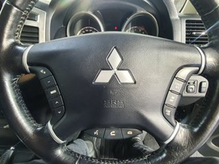 2015 Mitsubishi Pajero NX MY16 GLX Graphite Grey 5 Speed Sports Automatic Wagon