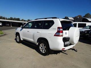 2017 Toyota Landcruiser Prado GDJ150R GXL White 6 Speed Automatic Wagon.