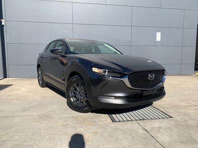 New Mazda CX-30 DM2W7A G20 SKYACTIV-Drive Pure Alexandria, 2021 Mazda CX-30 DM2W7A G20 SKYACTIV-Drive Pure Machine Grey 6 Speed Sports Automatic Wagon