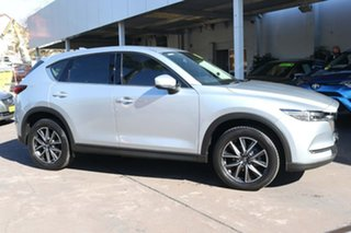 2018 Mazda CX-5 KF4WLA Akera SKYACTIV-Drive i-ACTIV AWD Silver 6 Speed Sports Automatic Wagon.