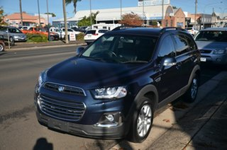 2017 Holden Captiva CG MY16 Active 7 Seater Blue 6 Speed Automatic Wagon