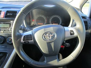 2012 Toyota Corolla ZRE152R MY11 Ascent Silver 6 Speed Manual Hatchback