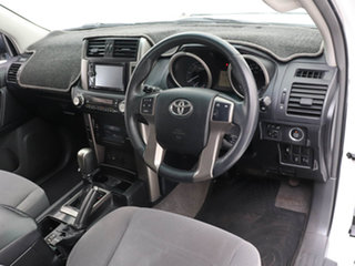 2011 Toyota Landcruiser Prado KDJ150R 11 Upgrade GXL (4x4) White 5 Speed Sequential Auto Wagon