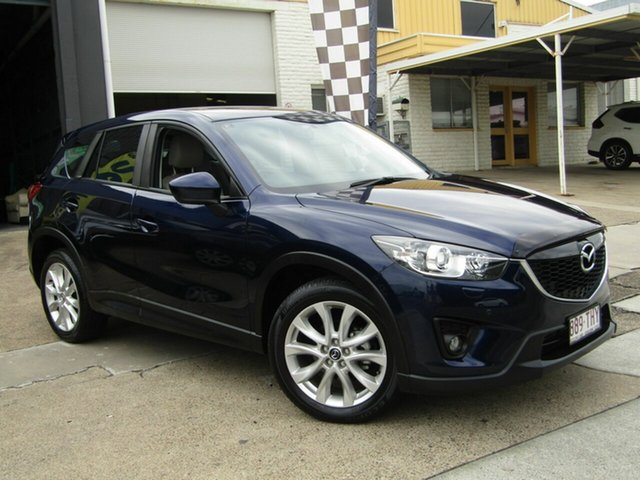 Used Mazda CX-5 KE1021 MY13 Grand Touring SKYACTIV-Drive AWD Moorooka, 2013 Mazda CX-5 KE1021 MY13 Grand Touring SKYACTIV-Drive AWD Blue 6 Speed Sports Automatic Wagon