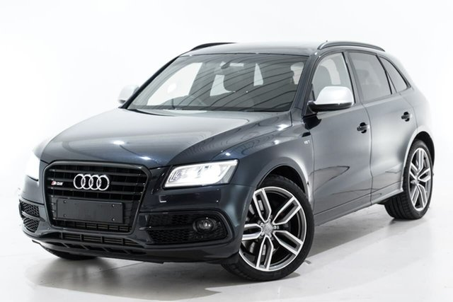 Used Audi SQ5 8R MY14 TDI Tiptronic Quattro Berwick, 2014 Audi SQ5 8R MY14 TDI Tiptronic Quattro Black 8 Speed Sports Automatic Wagon