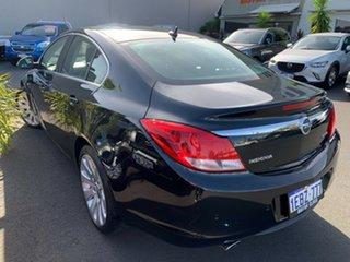 2012 Opel Insignia IN Select Black 6 Speed Sports Automatic Sedan.
