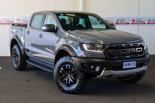 Pre-Owned Ford Ranger PX MkIII MY19 Raptor 2.0 (4x4) Myaree, 2018 Ford Ranger PX MkIII MY19 Raptor 2.0 (4x4) Grey 10 Speed Automatic Double Cab Pick Up