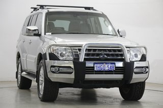 2017 Mitsubishi Pajero NX MY18 Exceed Silver 5 Speed Sports Automatic Wagon