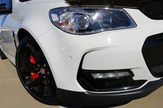 2017 Holden Commodore VF II MY17 SS V Redline White 6 Speed Manual Sedan.