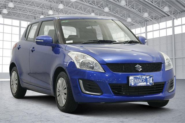 Used Suzuki Swift FZ MY15 GL Victoria Park, 2016 Suzuki Swift FZ MY15 GL Blue 4 Speed Automatic Hatchback