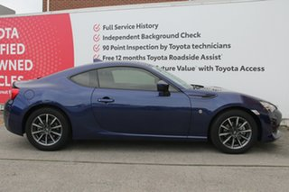 2017 Toyota 86 ZN6 GT Gravity Blue 6 Speed Sports Automatic Coupe