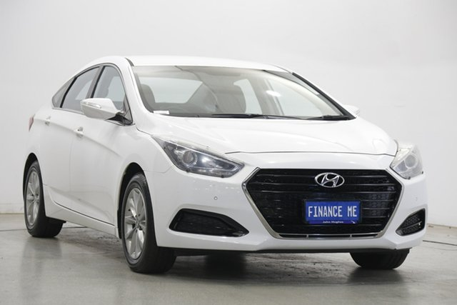 Used Hyundai i40 VF4 Series II Active D-CT Victoria Park, 2016 Hyundai i40 VF4 Series II Active D-CT White 7 Speed Sports Automatic Dual Clutch Sedan