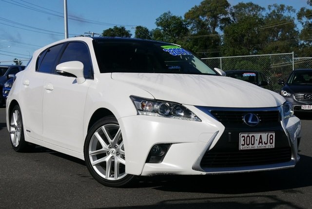 Used Lexus CT ZWA10R MY16 CT200h Limited Edition Hillcrest, 2017 Lexus CT ZWA10R MY16 CT200h Limited Edition White 1 Speed Constant Variable Hatchback Hybrid