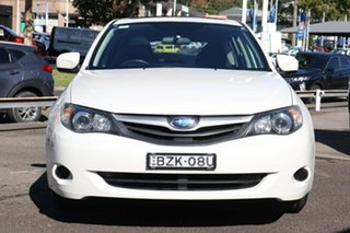 2011 Subaru Impreza G4 MY12 2.0i Lineartronic AWD White 6 Speed Constant Variable Hatchback