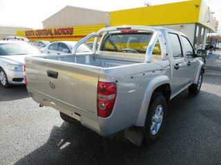 2011 Holden Colorado RC MY11 LX (4x4) Silver 5 Speed Manual Crew Cab Pickup